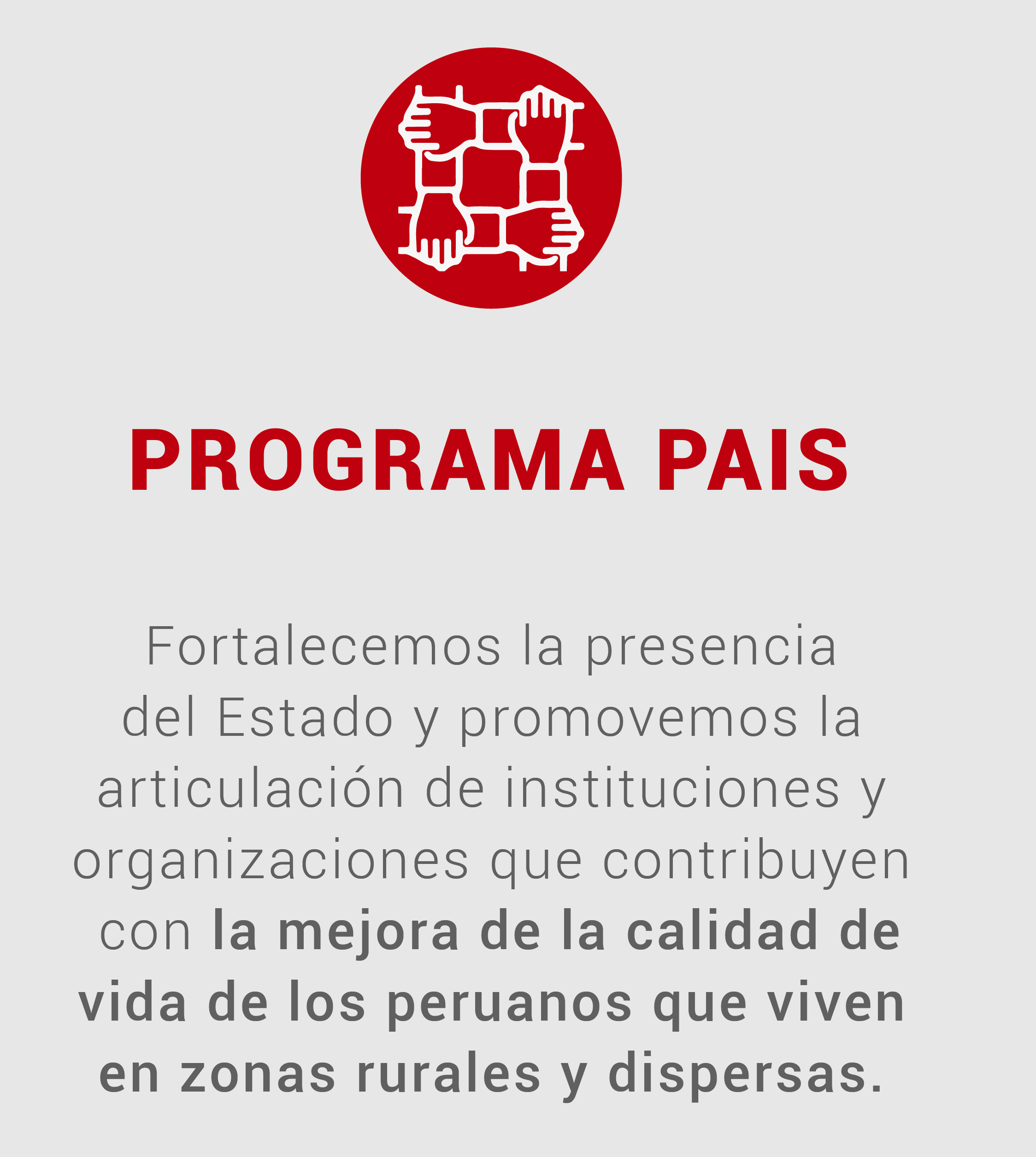 banco herramientas - Programa PAIS